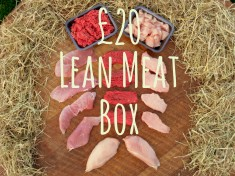 £20 Lean Meat Box Front Page